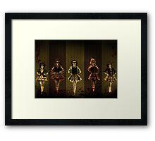 WarDance Framed Print
