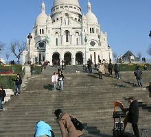 Sacre Coeur, Paris by wichwetyl