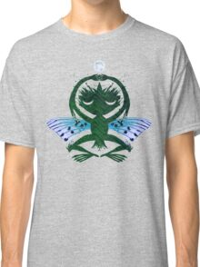 Haunted Solstice Moon Winged Thing Classic T-Shirt