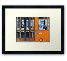 Transportation Framed Print