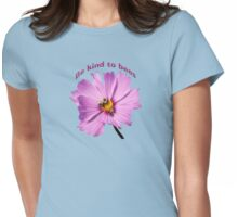 Be Kind to Bees Womens Fitted T-Shirt