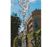 WATER FOUNTAIN MADRID Photographic Print