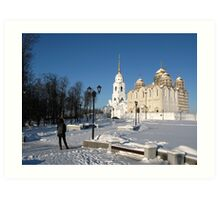Vladimir - The Cathedral of the Assumption Art Print
