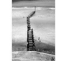 Beach Groyne, Overstrand, Norfolk Photographic Print