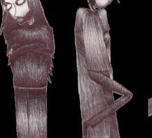 Rag Doll Soundgarden (Black) Sticker