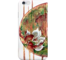 """""""Birth of Lotus Land""""   from the series """"Fractals of Life"""" iPhone Case/Skin"""
