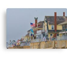 Beachfront Property Canvas Print