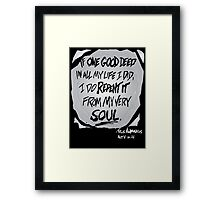 Titus Andronicus Framed Print