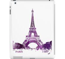 Eiffel Tower Paris France 1889 iPad Case/Skin