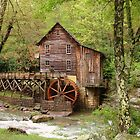 Glade Creek Grist Mill by Monnie Ryan