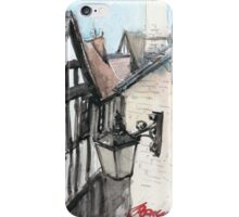 Grope Lane, Shrewsbury iPhone Case/Skin