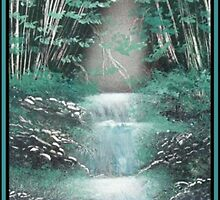 Bamboo Falls by linmarie
