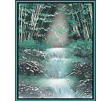 Bamboo Falls Photographic Print