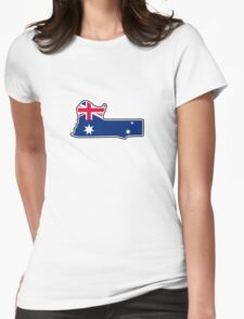 Mount Panorama Circuit Womens Fitted T-Shirt
