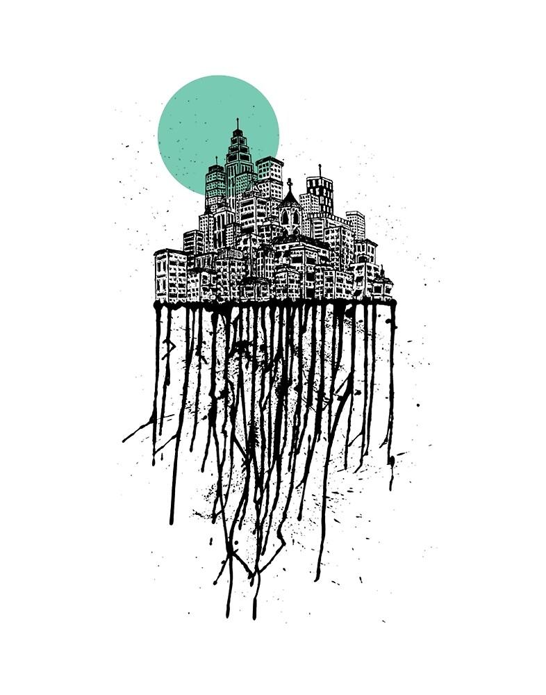 City Drips #2 by ZachHoskin