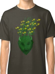 Sea Buffalo Dreaming Green Heart  Classic T-Shirt