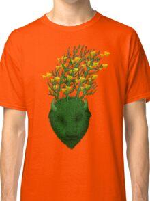 Sea Buffalo Dreaming Green Heart  Classic T-Shirt