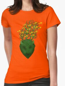 Sea Buffalo Dreaming Green Heart  T-Shirt