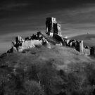 Corfe Castle by George Swann