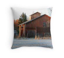 Finnish Barn Throw Pillow