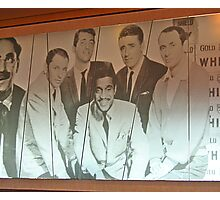 The Rat Pack Sailed, Too! Photographic Print