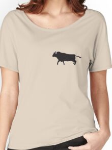 black bull Women's Relaxed Fit T-Shirt