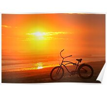 Sunset Cruiser Poster