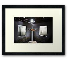 T. V. Framed Print