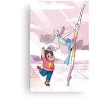 Pearl and Steven Universe - Dance Lessons Canvas Print