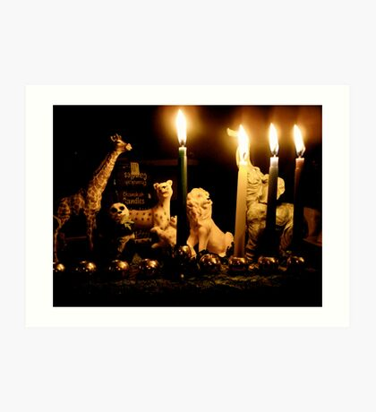 Happy Chanukah from the Wild Ones Art Print