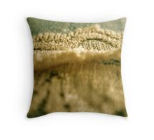 Lace on My Jeans Throw Pillow
