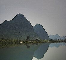 Evening Green - Yangshuo, China by AlliD