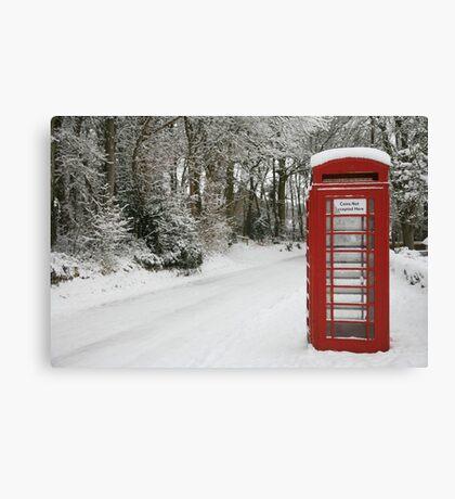 The Telephone box Canvas Print