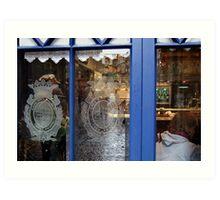 Cafe Bar Bilbao Art Print