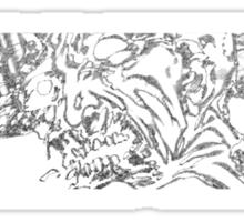 Ibraim Roberson Zombie 3 v2 Sticker