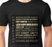 Charleston South Carolina Famous Landmarks Unisex T-Shirt