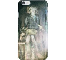 Why Did I Swap One of My Drawings for this Painting. iPhone Case/Skin