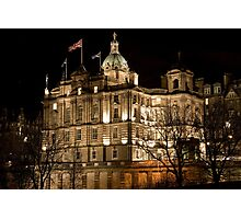 Bank of Scotland Headquarters - Edinburgh Photographic Print