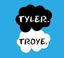Tyler Oakley & Troye Sivan by Susanna Olmi