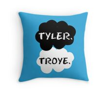 Tyler Oakley & Troye Sivan Throw Pillow