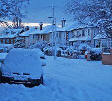 Snowy Suburbia by WatscapePhoto