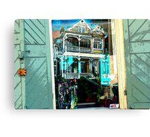 Window shopping Canvas Print