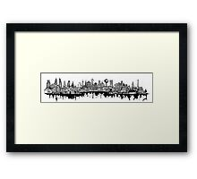 Composed Cityscape Framed Print