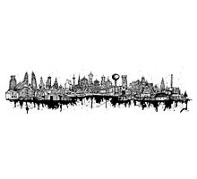 Composed Cityscape Photographic Print