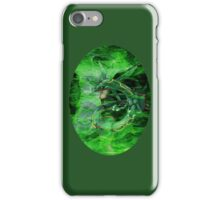 Green Whirlwind Rayquaza iPhone Case/Skin