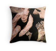 chains Throw Pillow