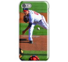 Braves VS Yankees Disney World March 2013 iPhone Case/Skin