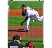 Braves VS Yankees Disney World March 2013 iPad Case/Skin