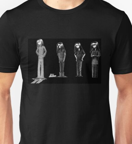 Rag Doll Type O Negative (Black) Unisex T-Shirt