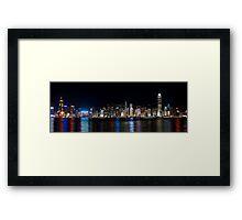 a historic Hong Kong landscape Framed Print